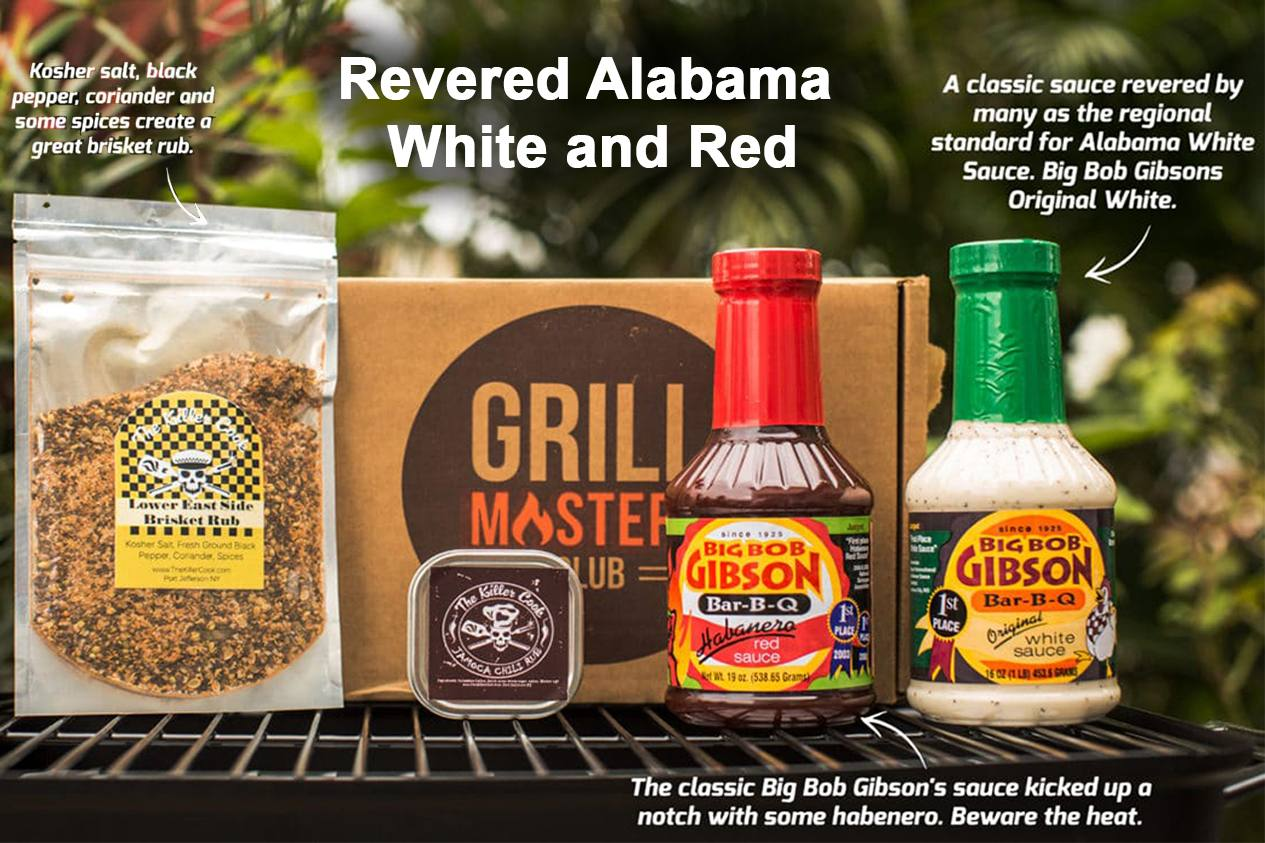 The Revered Alabama Red and White Grill Masters Club Box