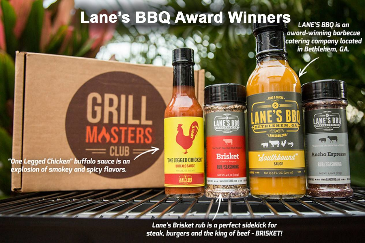 Lanes Award Winning Grill Masters Club Box